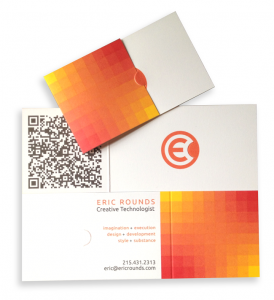 Eric Rounds Business Card