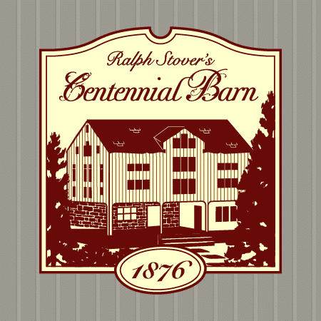 This is the final logo which was also used to create a road-side sign outside. The pattern behind it mimics the wood panel barn siding of the structure, and was used in the website.