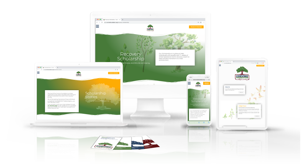 Recovery Website and Branding