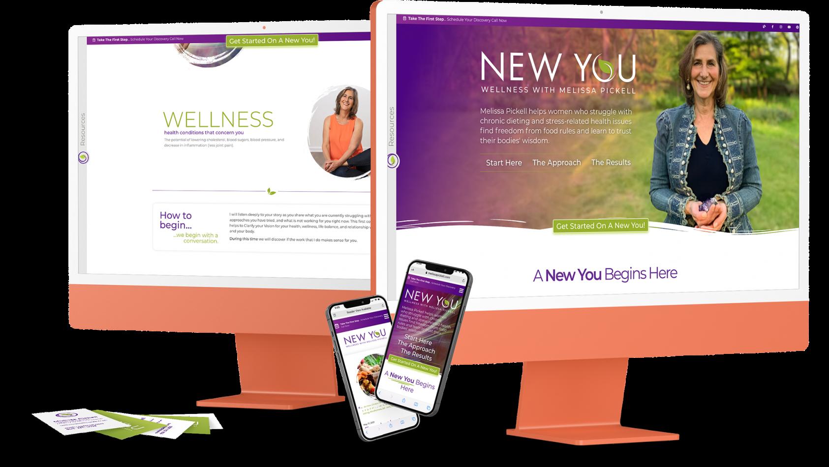Wellness Branding and Website
